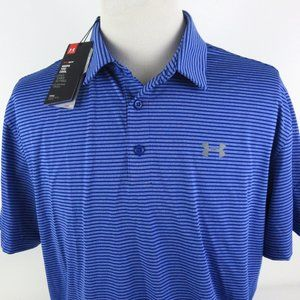 Under Armour Heat Gear Loose 2XL Golf Polo Shirt